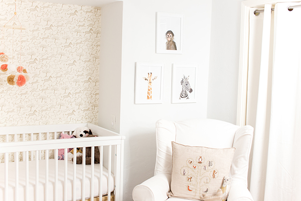 Home Makeover A Safari Chic Nursery