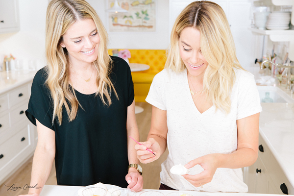 Lauren Conrad's Watercolor Meringues