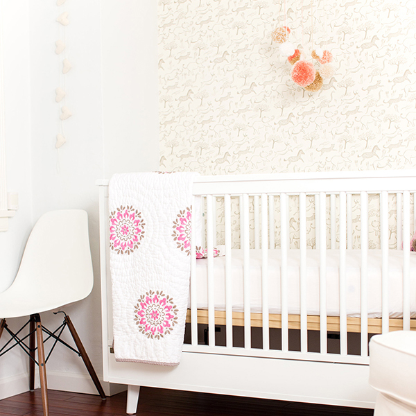 Home Makeover: A Safari Chic Nursery