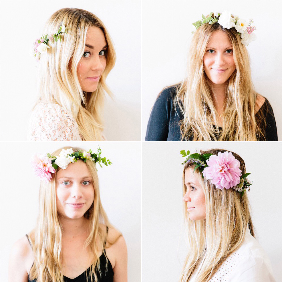 Diy how to make flower crowns lauren conrad diy how to make flower crowns izmirmasajfo