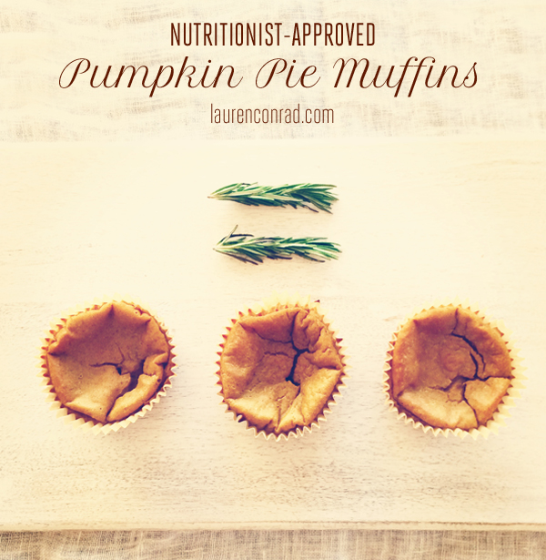 Nutritionist-Approved Pumpkin Pie Muffins