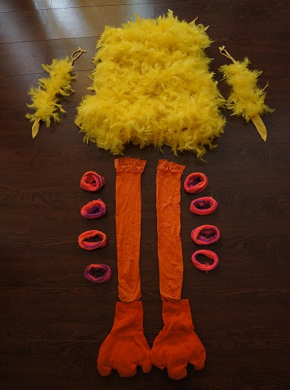 Halloween diy paulinas big bird costume lauren conrad however id say that you can play with it according to what you like also as seen in my picture you can put as much eyeshadow that you feel comfortable solutioingenieria Image collections