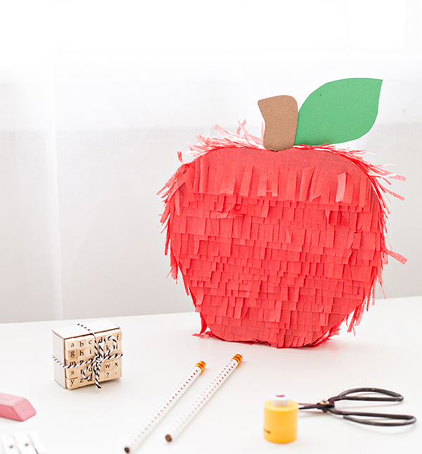 DIY Apple Pinata