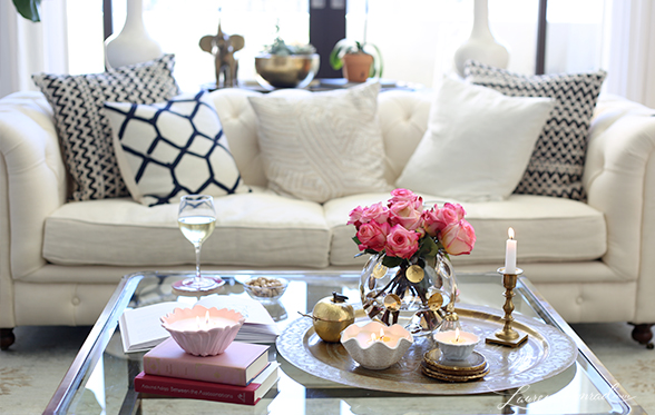 inspired idea: how to decorate with candles - lauren conrad