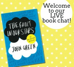 Book Club: My LIVE The Fault In Our Stars Chat Is Today!