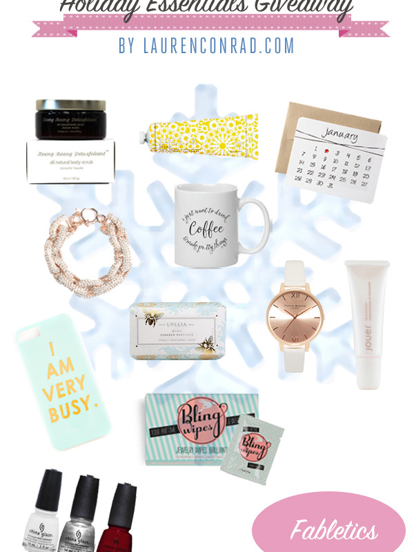 Giveaway: Win Our Holiday Season Essentials!
