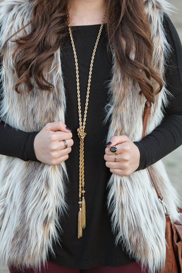 Chic of the Week: Chottie's Luxe Faux Fur