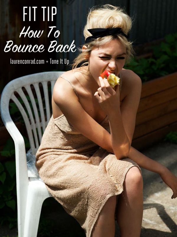 Tone It Up: How to Bounce Back During the Holidays