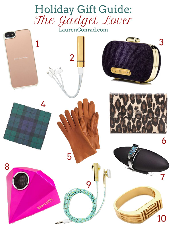 Lauren Conrad's Gift Guide for the Gadget Lover