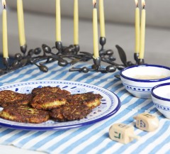 Lighter Latkes from LaurenConrad.com