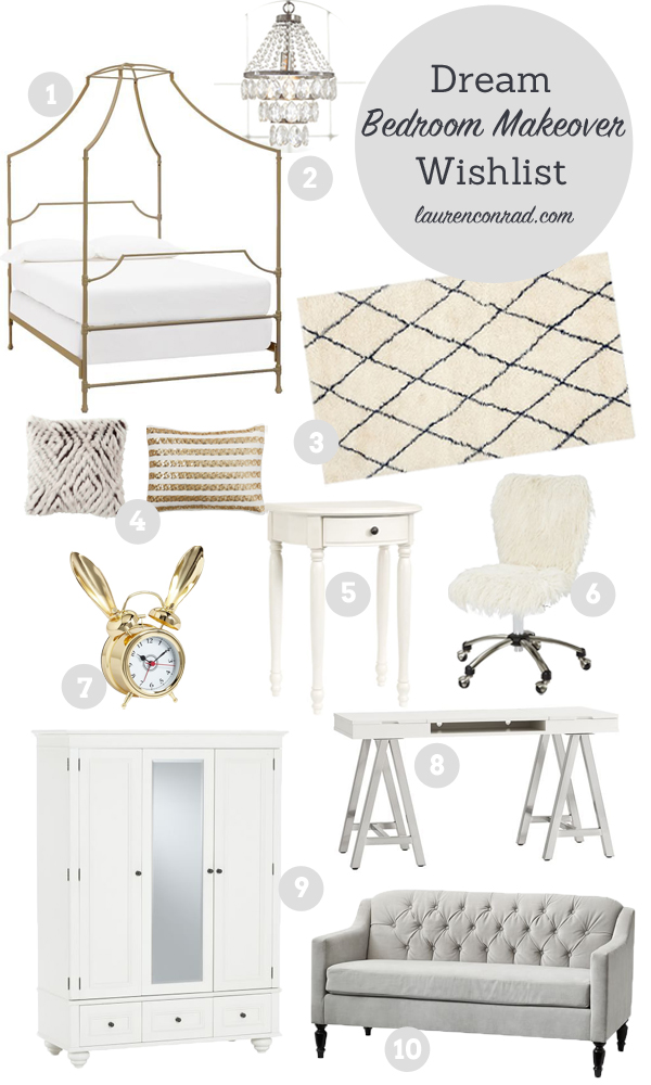 Home Makeover: Our Dream Bedroom - Lauren Conrad
