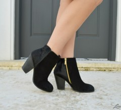 textured ankle boots (2)