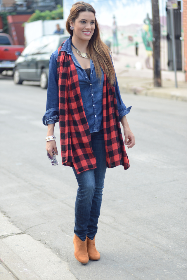 Chic of the Week: Amber's Chic Chambray
