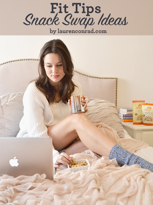 Healthy Snack Swaps by LaurenConrad.com