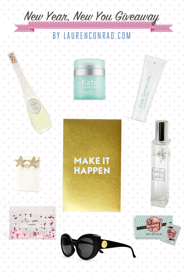 Giveaway: Our New Year, New You Goodie Bag!