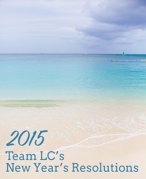 Tuesday Ten: Team LC's New Year's Resolutions