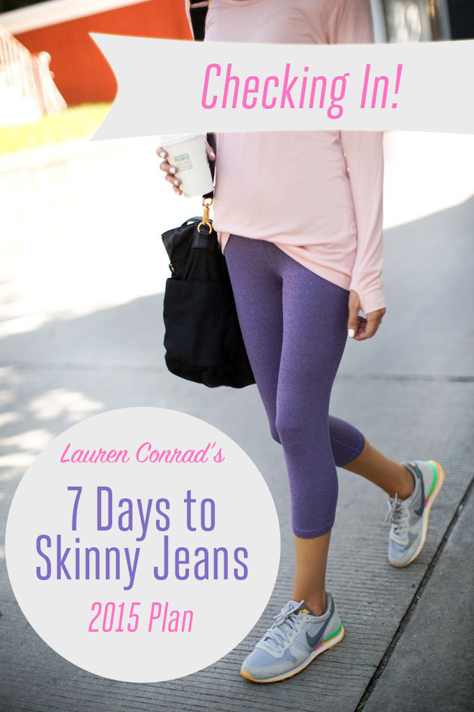 Shape Up: 7 Days to Skinny Jeans Check In!