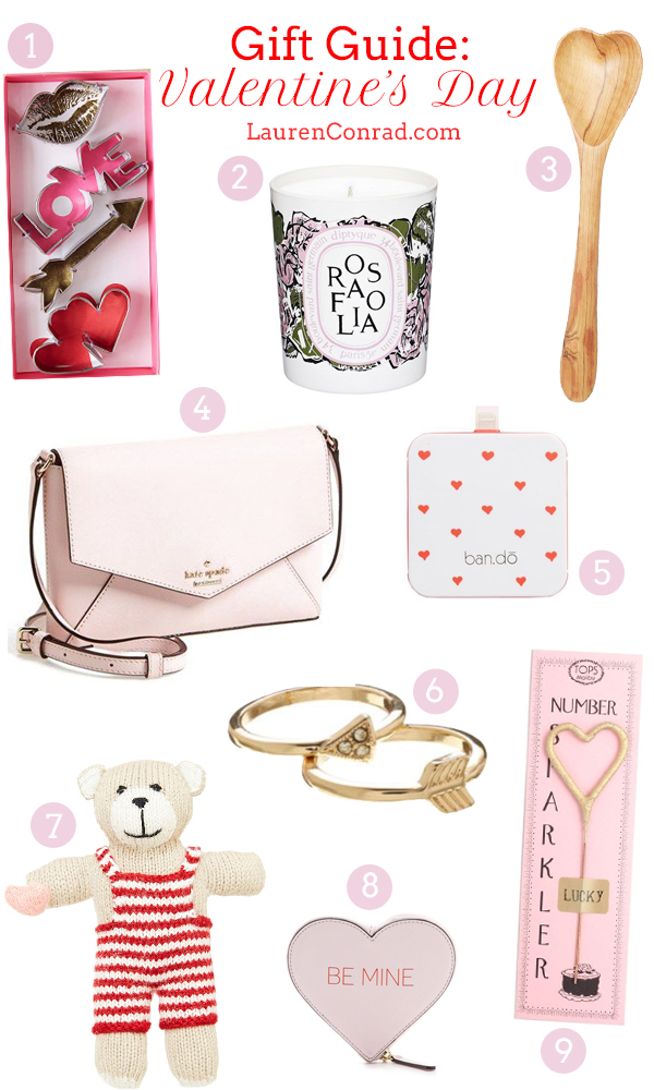 Gift guide valentine s day gifts for her lauren conrad for What is the best gift for valentine