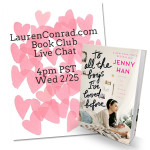 Book Club: My Live Chat for To All The Boys I've Loved Before is Today!