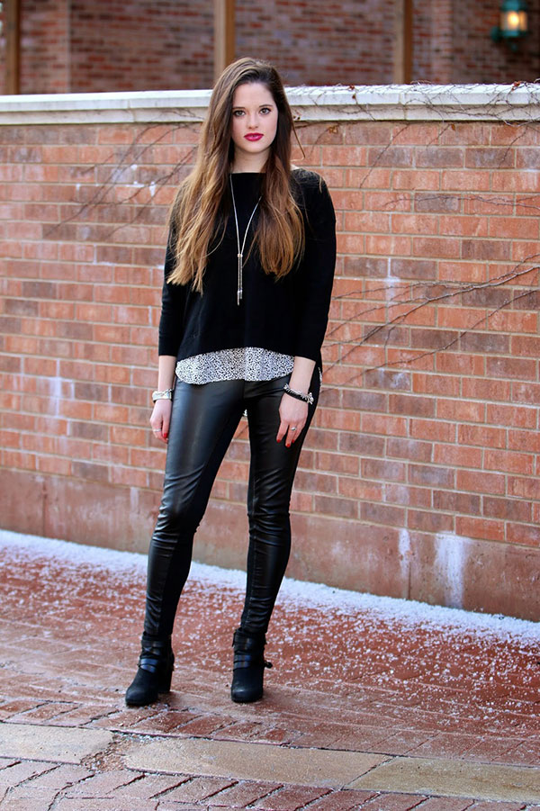Chic of the Week: Kathleen's Black on Black Ensemble