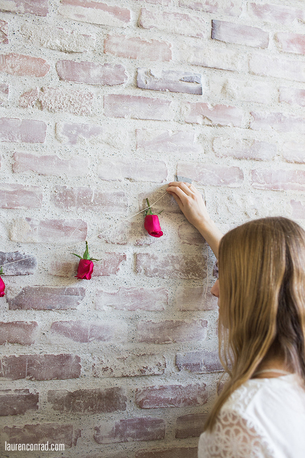 Inspired Idea: DIY Rosebud Garland