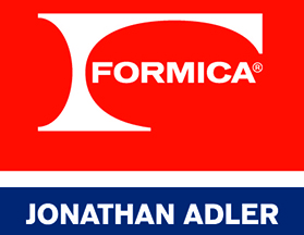 The Formica Laminate Jonathan Adler Collection,