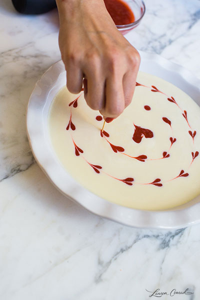 Edible Obsession: DIY Heart Cheesecake