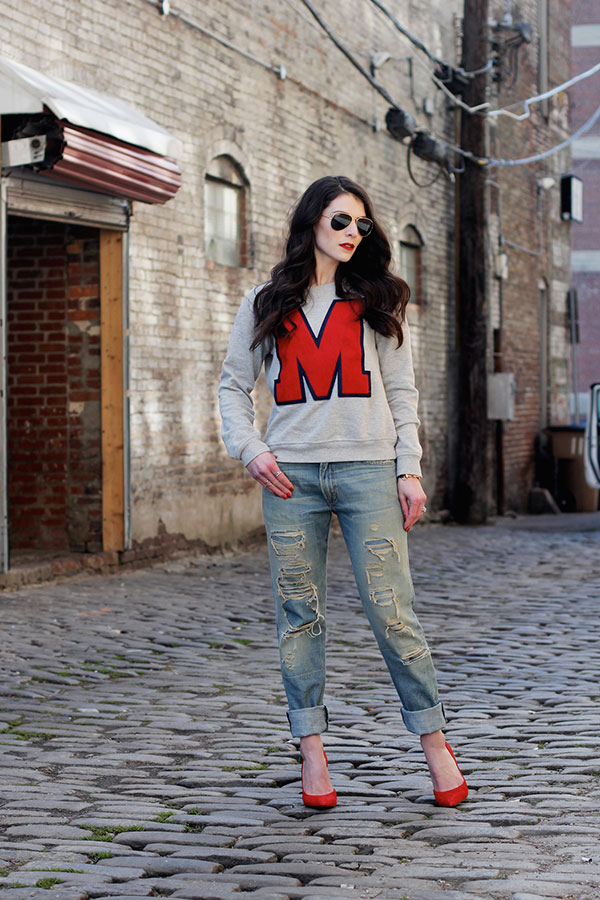 Chic of the Week: Haley's Cool Collegiate