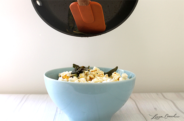 Edible Obsession: Brown Butter Sage Popcorn