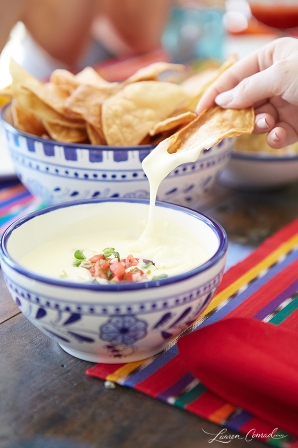 Recipe Box: Green Chili Chicken Tacos & Homemade Queso Dip | Elizabeth ...