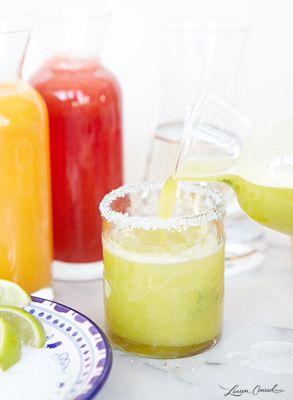 Lovely Libations: Fresh Fruit Margaritas