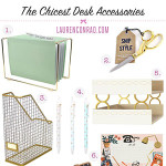 Tuesday Ten: The Chicest Desk Decor