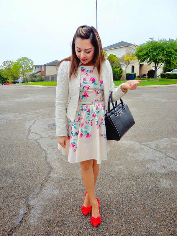 Chic of the Week: Vanessa's Springtime Style