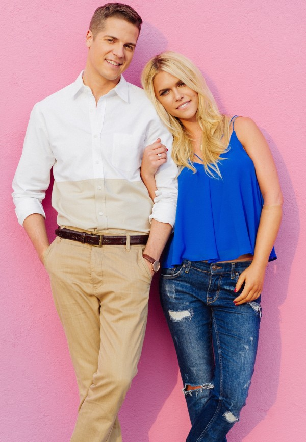 Jason Kennedy + Lauren Scruggs Kennedy {match made in heaven!}