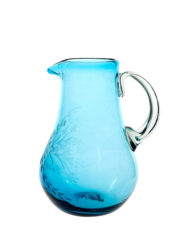 Pitcher in Aqua {The Little Market} copy