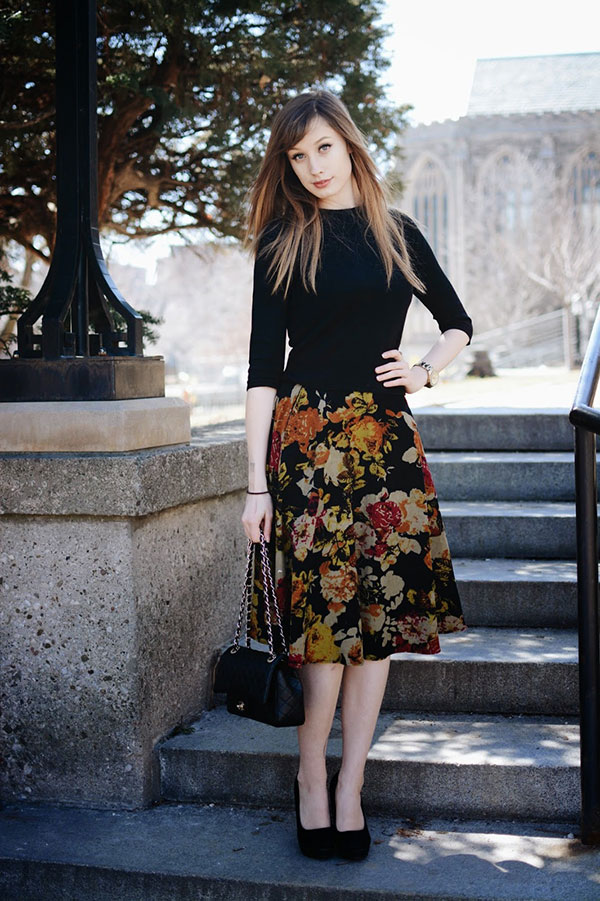 Chic of the Week: Rebecca's Marvelous Midi Skirt
