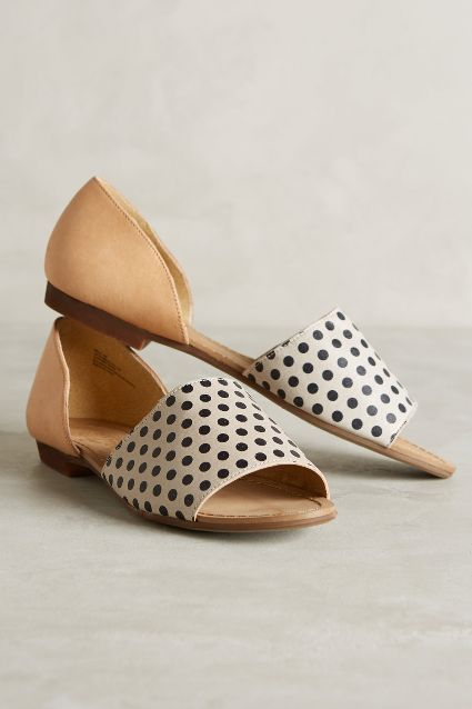 Friday Favorites: Favorite Flats {this pair of d'orsay flats from Anthropologie}