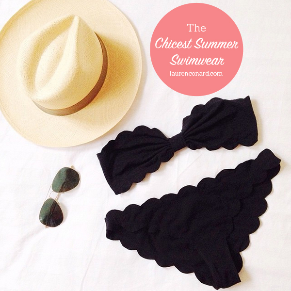 Tuesday Ten: The Chicest Summer Swimwear