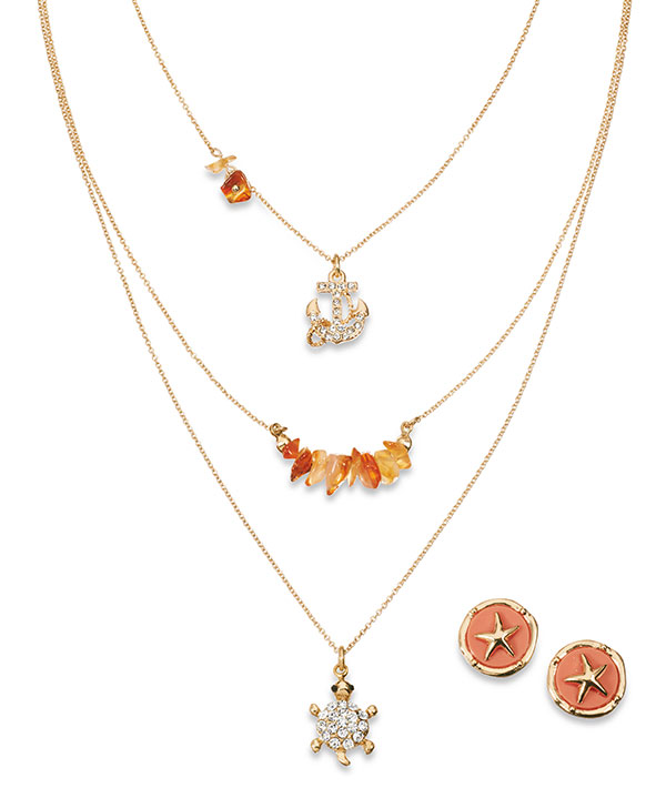 LC Lauren Conrad Layered Necklaces