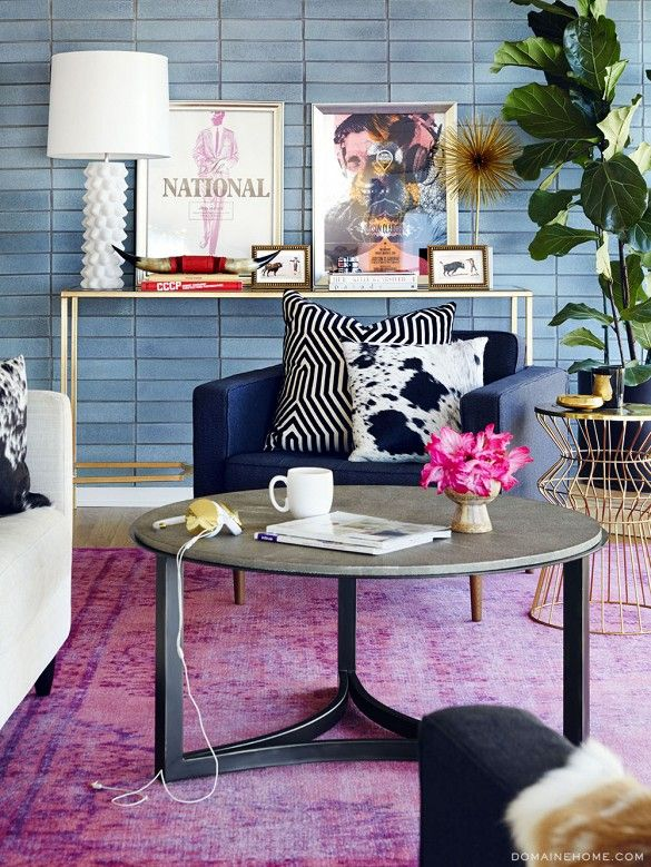 Friday Favorites: Favorite Space {Claire Thomas' gorgeous living room}