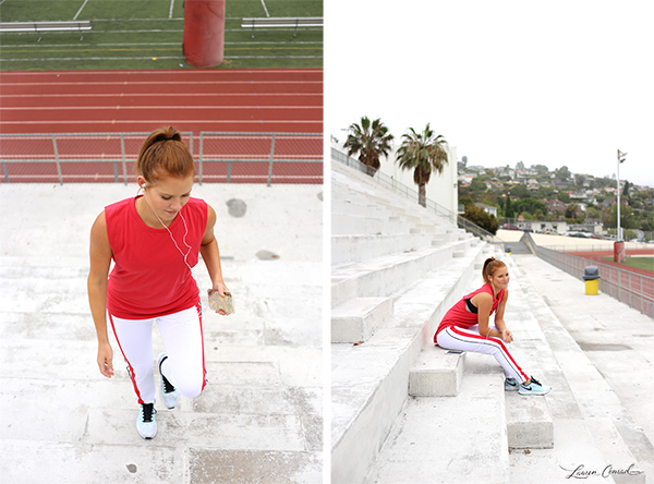 Stylish and functional workout wear.