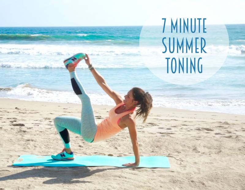 7 Minute Summer Toning from Tone It Up!