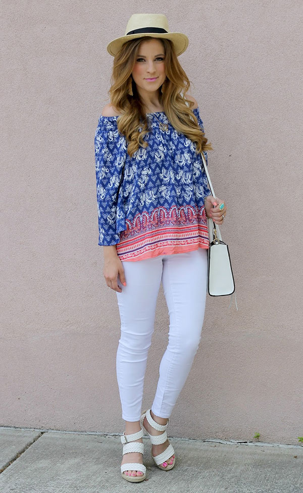 Chic of the Week: Courtney's Breezy Blouse