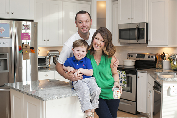 Emily Ley of The Simplified Planner and her adorable family!
