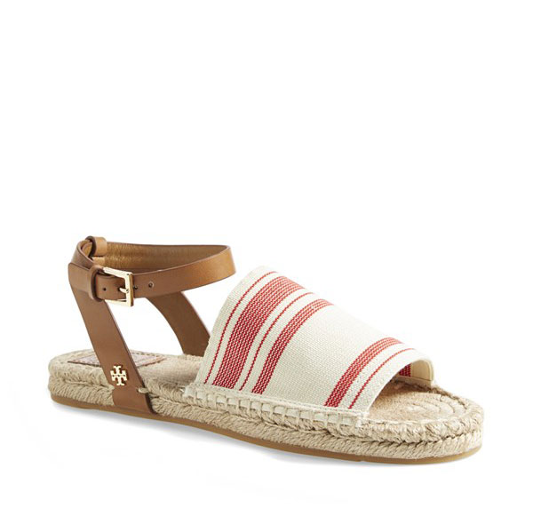 Tory Burch summer espadrilles.