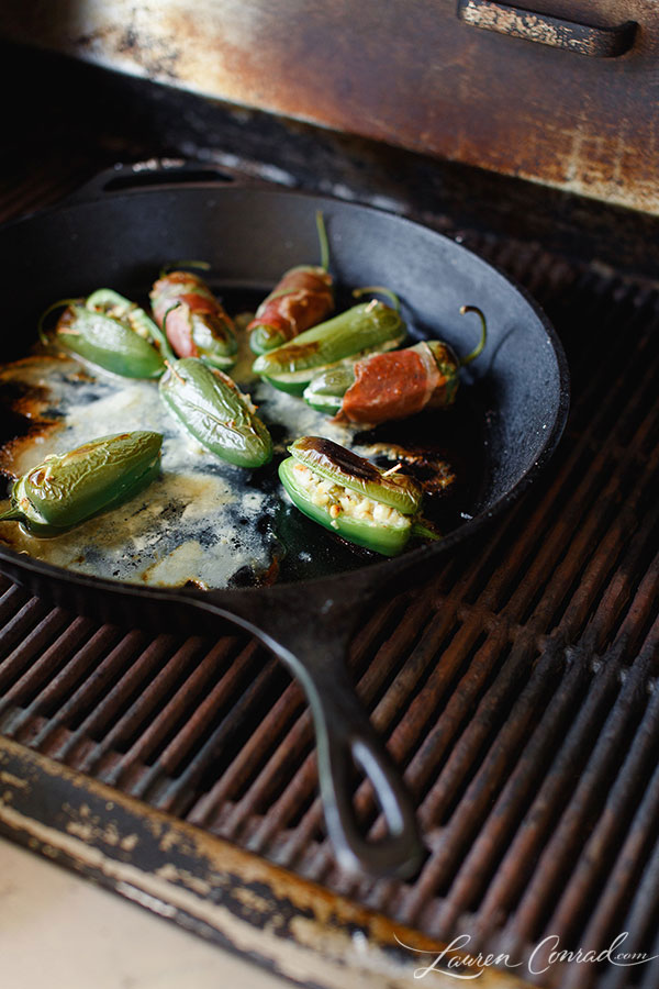 You'll find these jalapeño poppers on our grill this weekend!