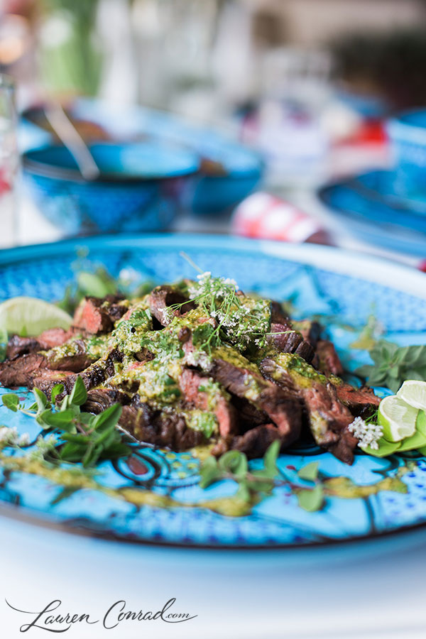 Delicious Chimichurri Skirt Steak Recipe