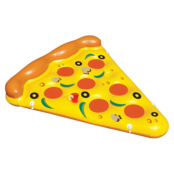 Toysplash Pizza Slice Pool Float