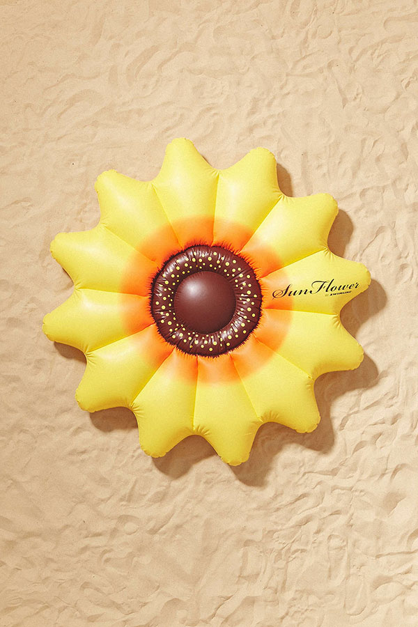 Urban Outfitters Sunflower Pool Float