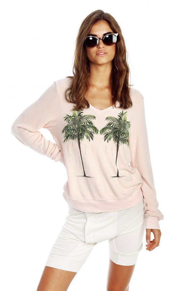 Wildfox Twin Palms Sweater.